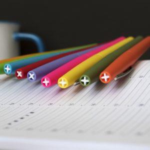 papier et stylos